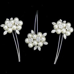 Vintage Wedding Hair Pins - Blossom