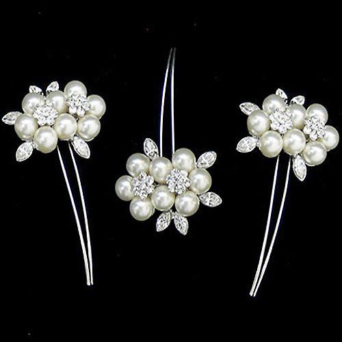 Vintage Wedding Hair Pins - Blossom