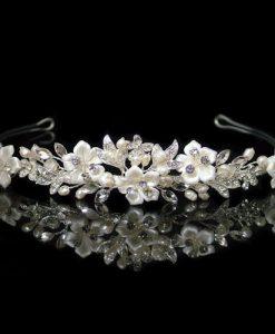 Petal Floral Wedding Tiara