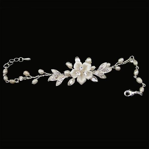 Petal Wedding Bracelet by starlet jewellery