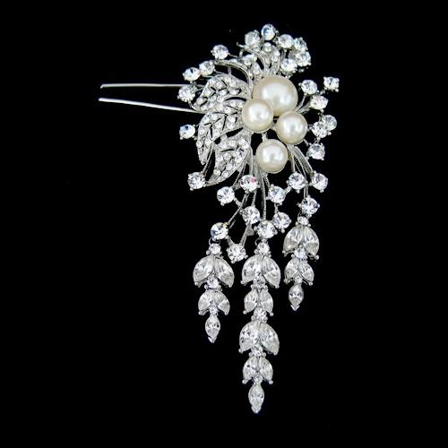 vintage wedding hair pin
