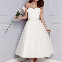 Jupon 127 Tea Length Wedding Petticoat