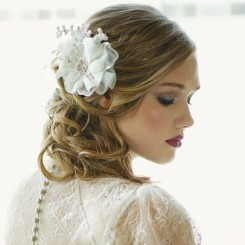 Organza Wedding Hair Flower