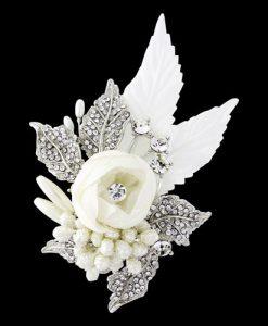 Bridal Flower Hair Accessory