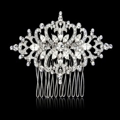 art deco bridal comb darcy