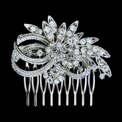 Petite Vintage Bridal Comb - Mimi