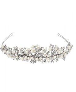 vintage pearl tiara tara by poirier