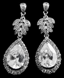 Vintage Starlet Wedding Earrings