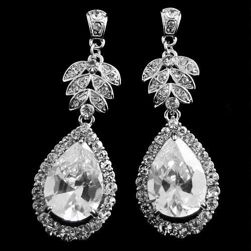 Vintage Starlet Wedding Earrings
