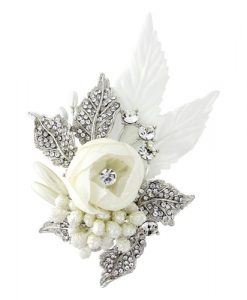 vintage floral bridal hair accessory