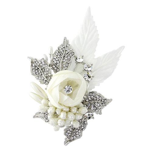 vintage floral bridal hair accessory