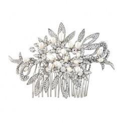 vintage bridal comb tara
