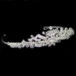 Warren York 4487 Crystal Tiara