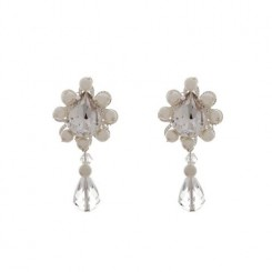 Zara Bridal Earrings by Starlet Jewellery