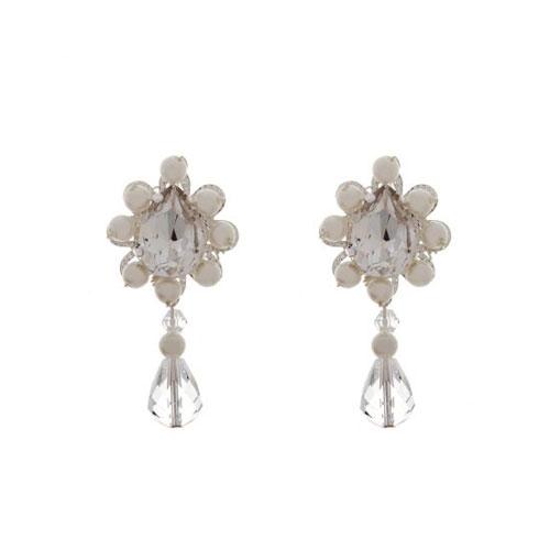 Zara Bridal Earrings by Starlet Jewellery