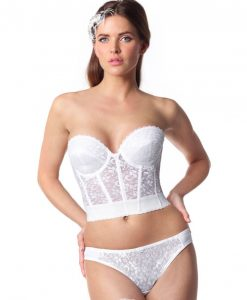 Carnival Lace Bridal Bustier 213