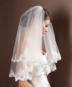 Lace Wedding Veil S50