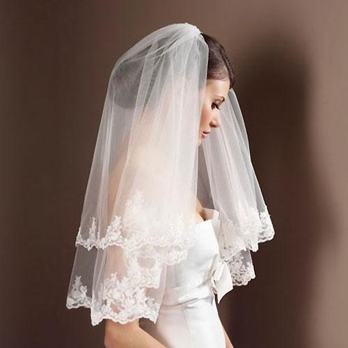 Lace Wedding Veil S50