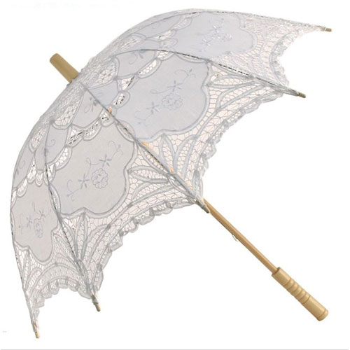 abigail lace wedding parasol