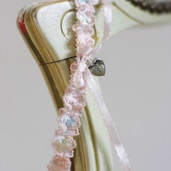 Embroidered Wedding Garter ZL6
