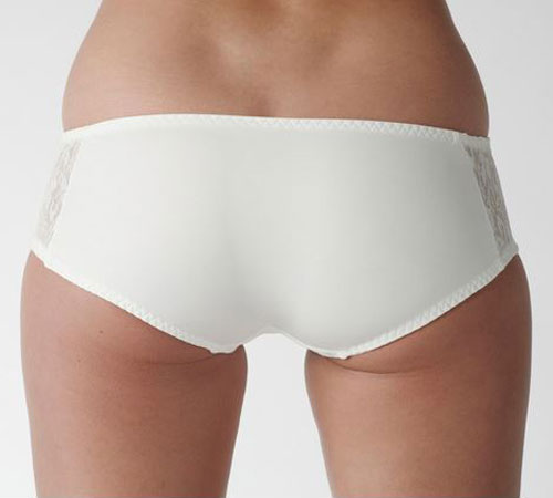 Carnival Lace Bridal Hipster Shorties 3143