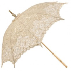 Emma Lace Wedding Parasol