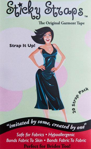 Sticky Straps Garment Tape