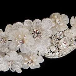 Lace Flower Wedding Headband Florentina