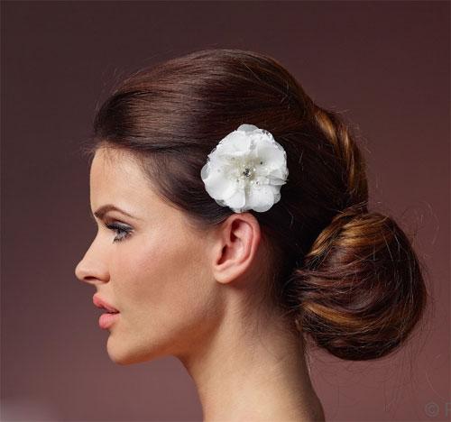 Lace Flower Hair Clip BB-362