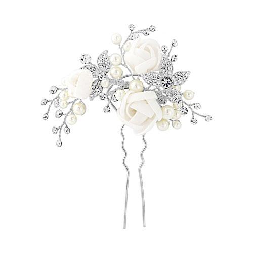 Flower Wedding Hair Pin clarissa