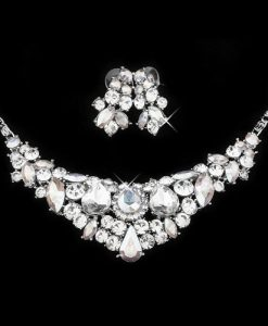 Crystal Bridal Jewellery Set