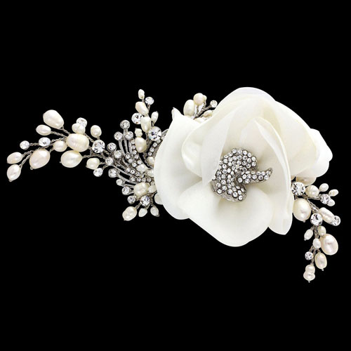 Vintage Flower Hair Accessory Miriam