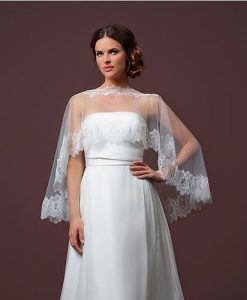 Tulle Bridal Capelet