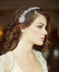 Pearl Wedding Hair Vine angelica