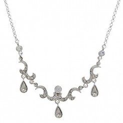 London Vintage Crystal Necklace