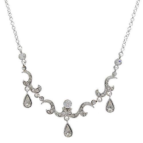 London Vintage Crystal Necklace