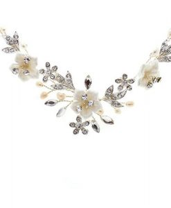 Petal Floral Wedding Necklace