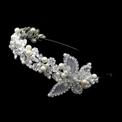 Liza Designs FH3101 Butterfly Headpiece