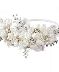 Fabric Flower Headband Gianna