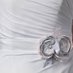Floral Corsage Wedding Belt