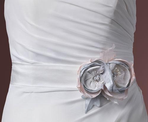 Floral Corsage Wedding Belt