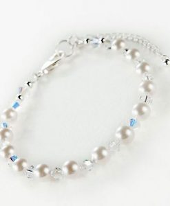 Swarovski AB Crystal and Pearl Jewellery Set