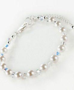 Swarovski AB Crystal and Pearl Jewellery Set