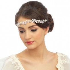 bridal hair vine vintage