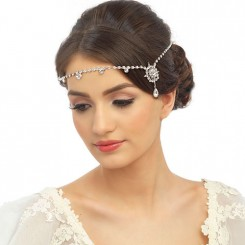 Crystal Wedding Browband
