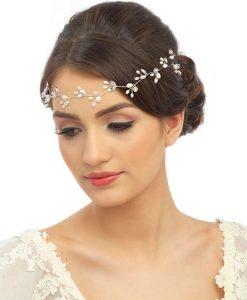Freshwater Pearl Bridal Hair Vine
