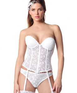 Carnival 313 Lace Wedding Basque