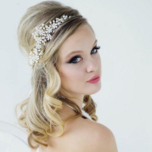 Floral Wedding Hair Vine