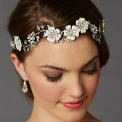 Eden Floral Wedding Headband