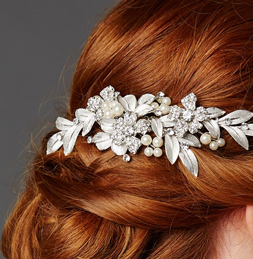 Cassia Crystal Bridal Hair Comb